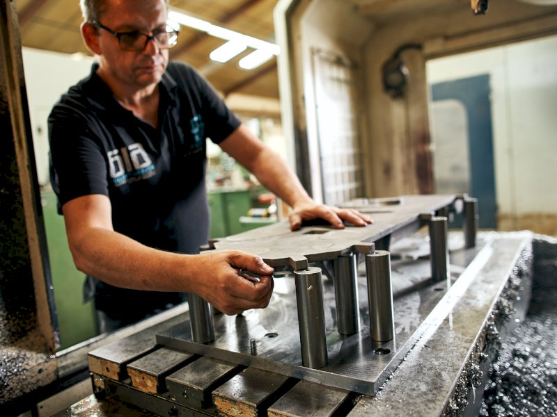 Dufetre Michat - métier Machining of all types of prototype parts (especially cast parts)
